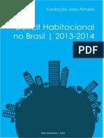Deficit Habitacionais Ipea