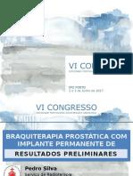 BRAQUITERAPIA PROSTÁTICA COM IMPLANTE PERMANENTE DE SEMENTES DE IODO-125  - Resultados Preliminares