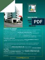 NAUCALPAN. EDIFCIO OFICINAS EN RENTA 2,400 M2