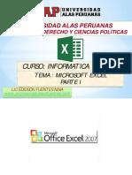 12. Sesion Excel 2007 Parte I_2017-1b Derecho