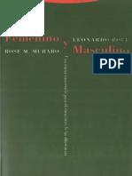 Boff Leonard Y Muraro Rose - Femenino Y Masculino