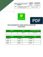 Hse-pr-009 Procedimiento Para Enchape