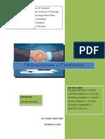 Trabajo Obligaciones y Contratos Mercantiles