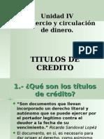 Clase 11 12 y 13 - Titulos de Credito