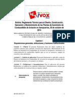 Reglamento Diseño y Contruccion Planta de Combustible - Bolivia.