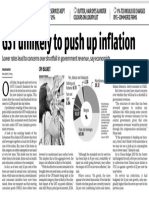 Inflation Gst