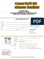 Florida Seed Association - 33rd Seminar Reg Form