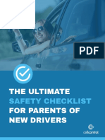 the ultimate safety checklist for parents of new drivers
