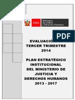 Plan Institucional MINJUS