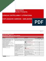 Programacion Lengua Castellana Literatura 1
