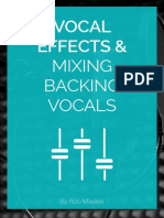 Vocal Effects Backing Vocals