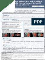 Re-irradiação esplénica em doente com leucemia linfocítica crónica B - caso clínico