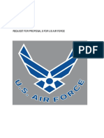 Proposal Doc for Us Airforce