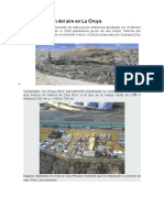 Contaminación Ambiental en La Oroya