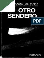 El Otro Sendero - Hernando de Soto
