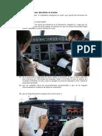 Obligaciones Del Piloto