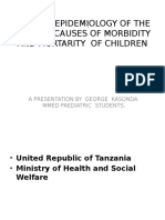 Clinical Epidemiology of the Leading Causes of Morbidity