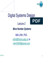 DSD_Lecture 2-More Number Systems_MLinh