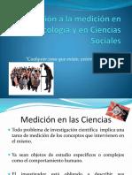 Introducción a La Medición en Psicología