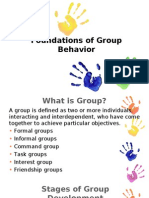 Foundations Group Behavior