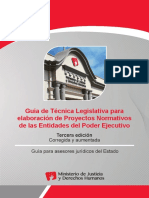 Guia de Tecnica Legislativa 3era Edición