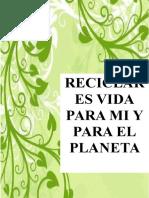 Capacitacion de Reciclaje Terminadooo Angeles y Pao