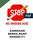 Kawasan Bebas Asap Rokok