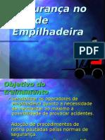 Segurança No Uso de Empilhadeira - Edson D. Silva