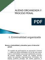 Criminalidad Organizada y El Proceso Penal