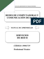 89001719 Servicios de Red II
