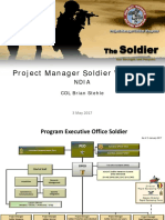 Project Manager Soldier Weapons May 2017 (COL Stehle)