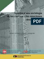 ARANGUREN, Martín; SCRIBANO, Adrián. Aporte a Una Sociologia de Los Cuerpos