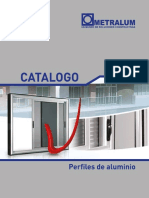 Catalogo Perfiles Metralum 2014