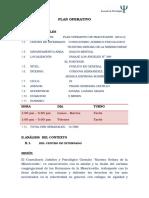 Plan Operativo Terminado 2014