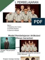 Model Pembelajaran Mada