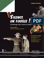 """Dossier de presse """"Silence on Fouille"""""""