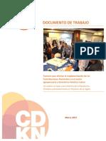Factores Que Afectan La Implementación de Las Contribuciones Nacionales en El Sector Agropecuario y Forestal en a.L.