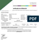 Certifica Do Cot i Zante 20170530