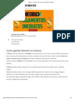 Neobux - Como Lucrar Com o Site - Pago Por Clique