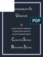 sustainability in  unilever final - copy