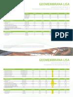 Especificaciones Tecnicas Geomembrana Hdpe Pavco