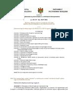 Privind Reglementarea Prin Licenţiere a Activităţii de Întreprinzător