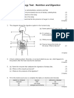 CSEC Biology - Digestion Test