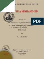 """(Tome 4 ) """"De Moïse à Mohammed, l'islam entreprise juive"""" par le père Gabriel Théry (Hanna Zakarias)"""