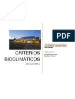 CRITERIOS BIOCLIMÁTICOS