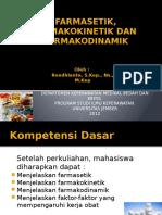 FARMASETIK, FARMAKOKINETIK DAN FARMAKODINAMIK.pptx