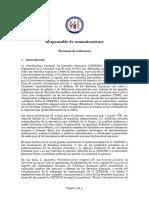 TDR Responsable de Comunicaciones
