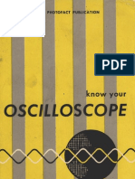 Know Your Oscilloscope