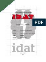 Analisis FODA Personal - IDAT