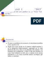 Derecho Civil I Teor a General Del Acto Jur Dico. 1